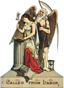 virgin and the column
